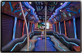 Paris Party Bus Rental